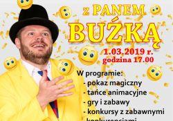 MCK zaprasza na Złoty Bal Karnawałowy z Panem Buźką
