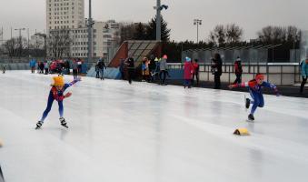 """Udany weekend dla młodych łyżwiarzy z IUKS """"Dziewiątka"""""""