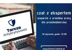 Wsparcie dla przedsiębiorców – czat z dyrektorem WUP w Łodzi