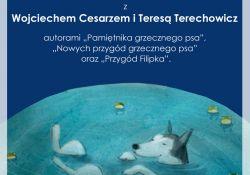 Spotkanie autorskie z Wojciechem Cesarzem i Teresą Terechowicz