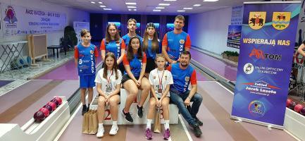 Młodziczki Pilicy z medalami na Mistrzostwach Polski w kręglarstwie