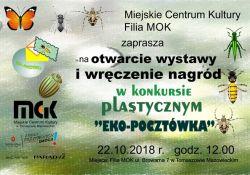 Zaproszenie na rozstrzygniecie konkursu EKO-POCZTÓWKA
