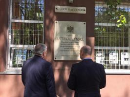 Prezydent Marcin Witko z wizytą w Mołdawii