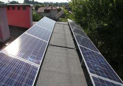 Panele fotowoltaiczne na dachu TTBS