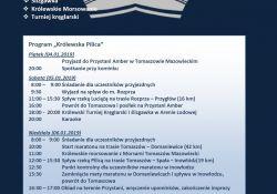 XI Noworoczny Spływ Kajakowy rzeką  Pilicą