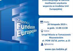 Punkt Informacyjny Funduszy Europejskich – przyjdź, dowiedz się, skorzystaj!