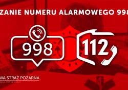 Przełączanie numeru alarmowego 998 do CPR