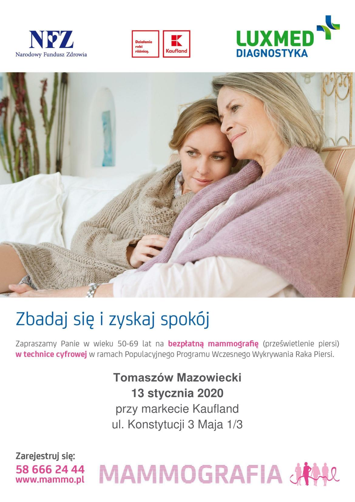 mammografia styczeń 2019