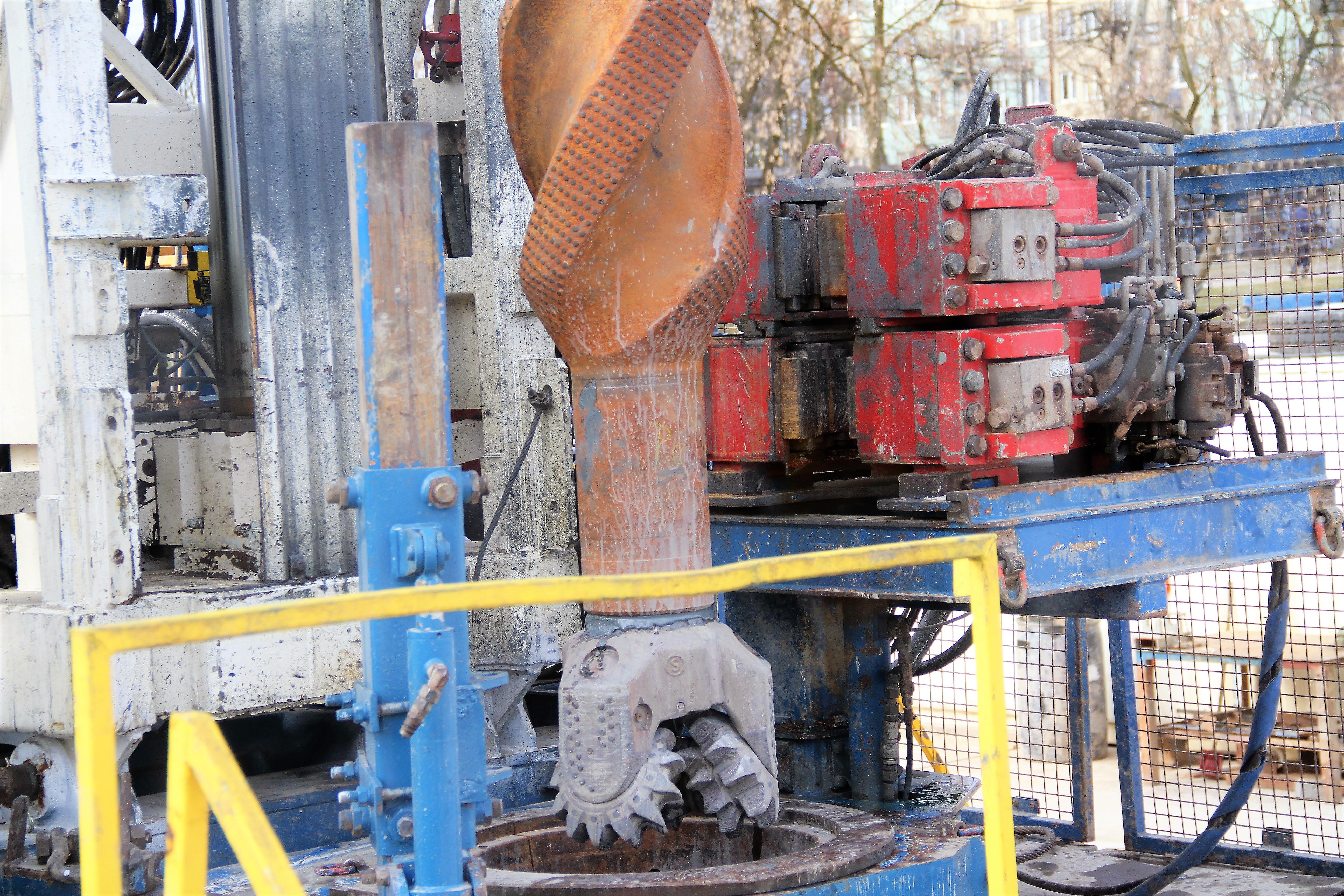 odwiert geotermalny zakończony wniki
