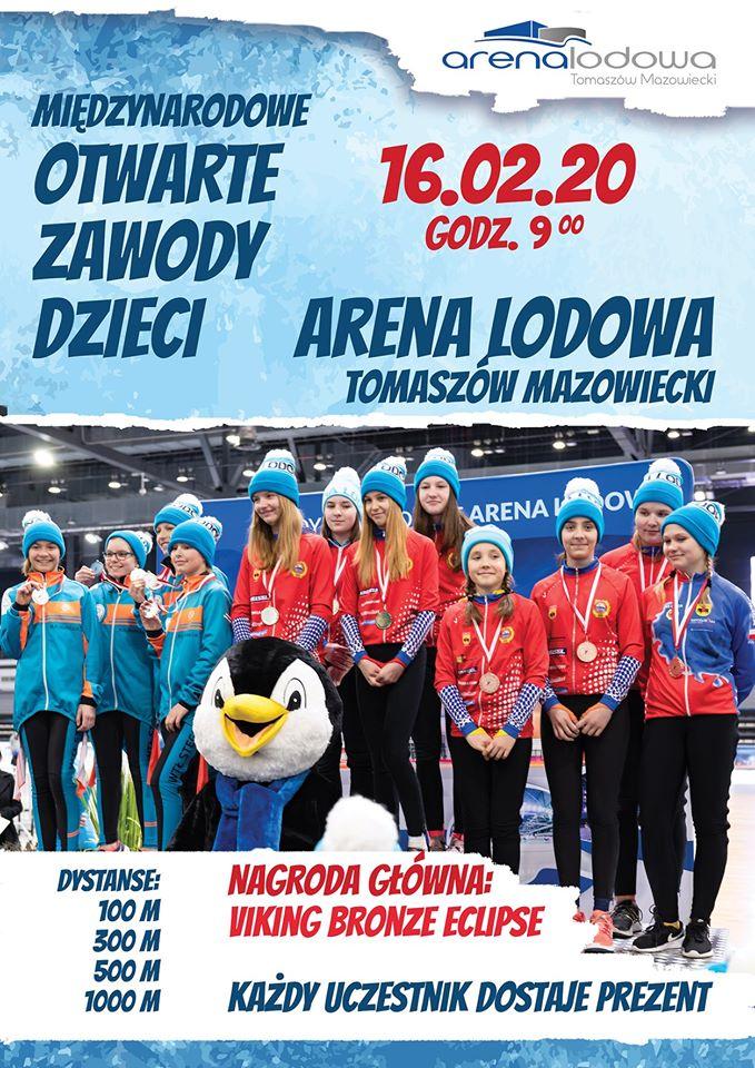 Zawody dzieci i młodzieży Arena Cup luty 2020