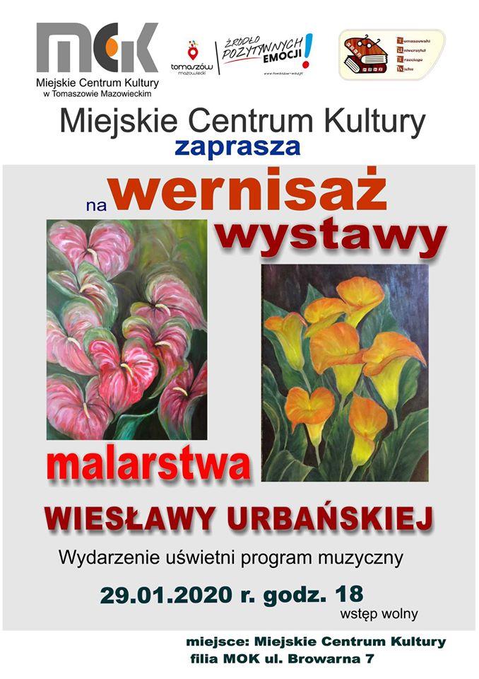 wernisaż malarstwa Wiesławy Urbańskiej
