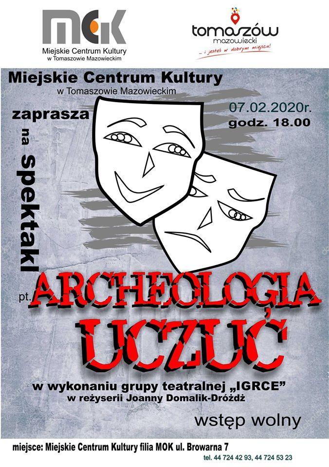 archeologia uczuć plakat