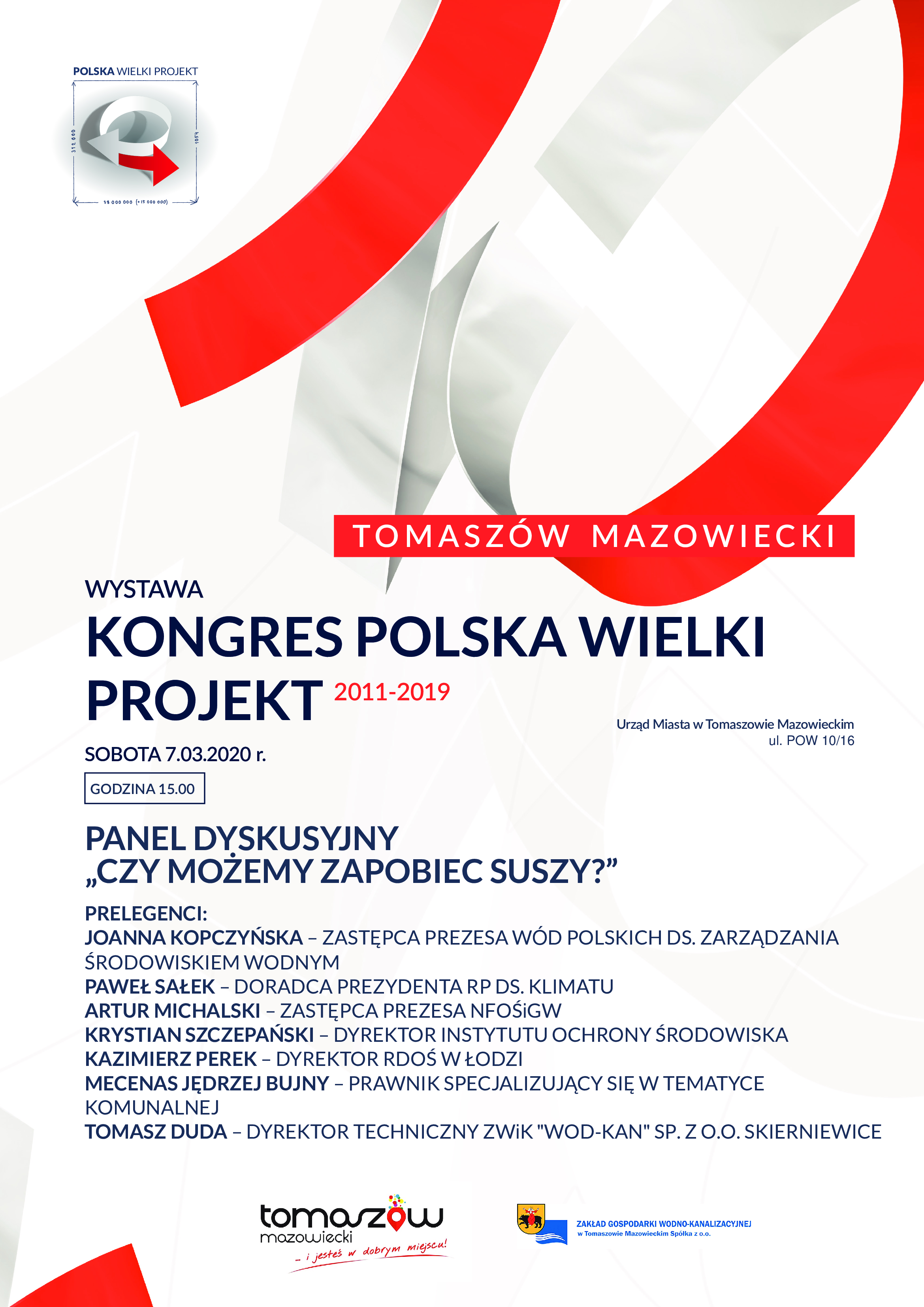 Kongres Polska Wielki Projekt plakat