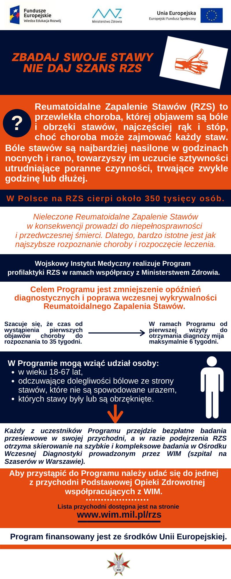 remautoidalne zapalenie stawów badania profilaktyczne